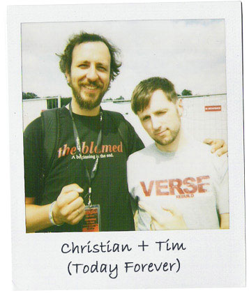Christian et Tim de Today Forever