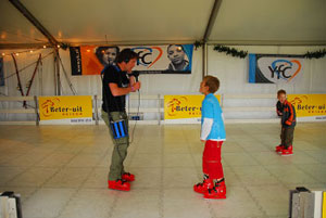 Patinoire du stand Youth For Christ