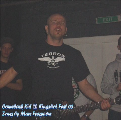 Comeback Kid @ King Shot 2003