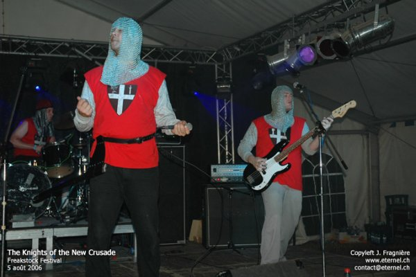 The Knights of the New Crusade @ Freakstock 2006